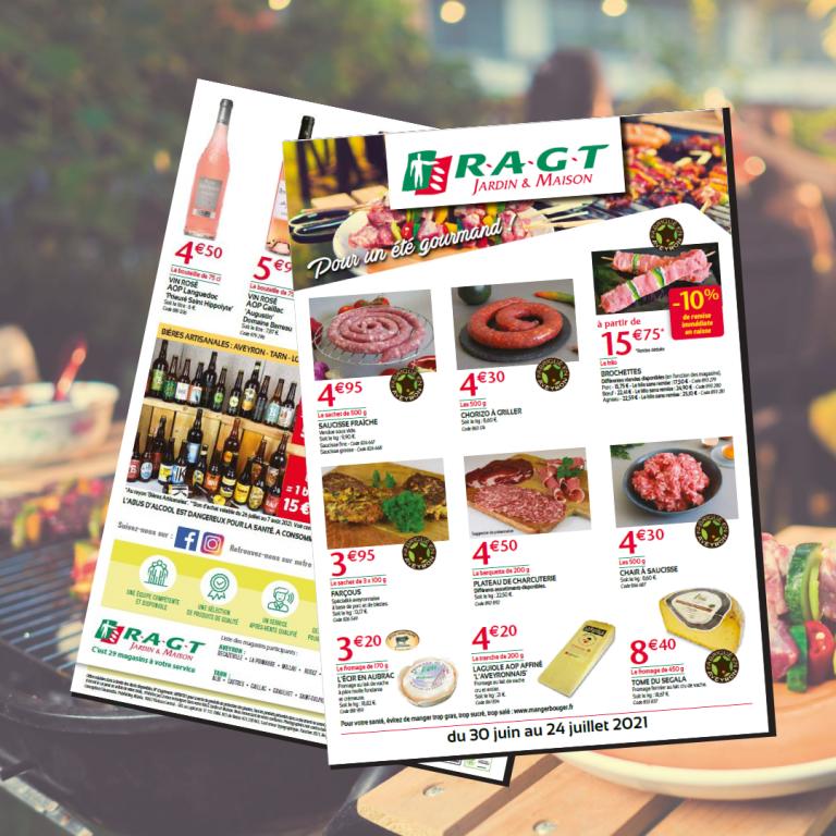 Passez un été gourmand avec les offres RAGT de juin